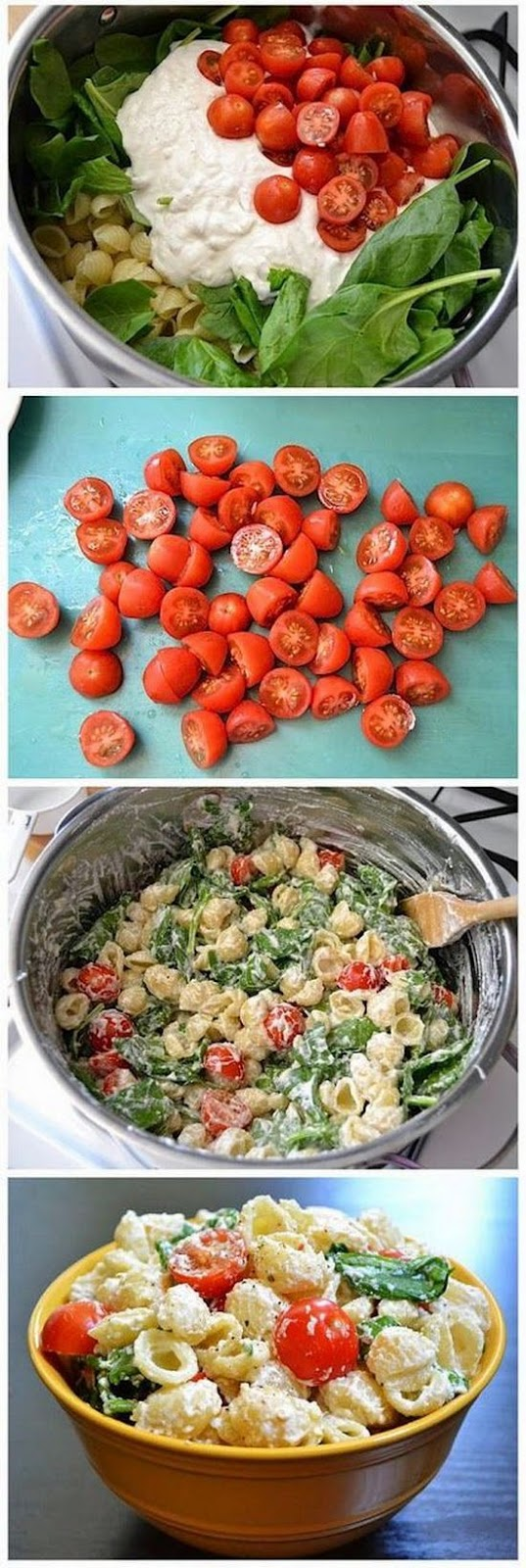 Roasted Garlic, Olive And Tomato Pasta Salad Recipe — Dishmaps