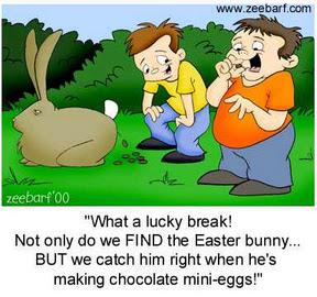 Funny Easter Clip Art
