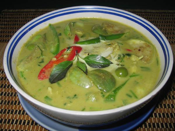 Výsledek obrázku pro polévka green curry