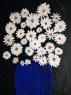Daisies by Sohini Ghosh (part of her portfolio on www.indiaart.com)
