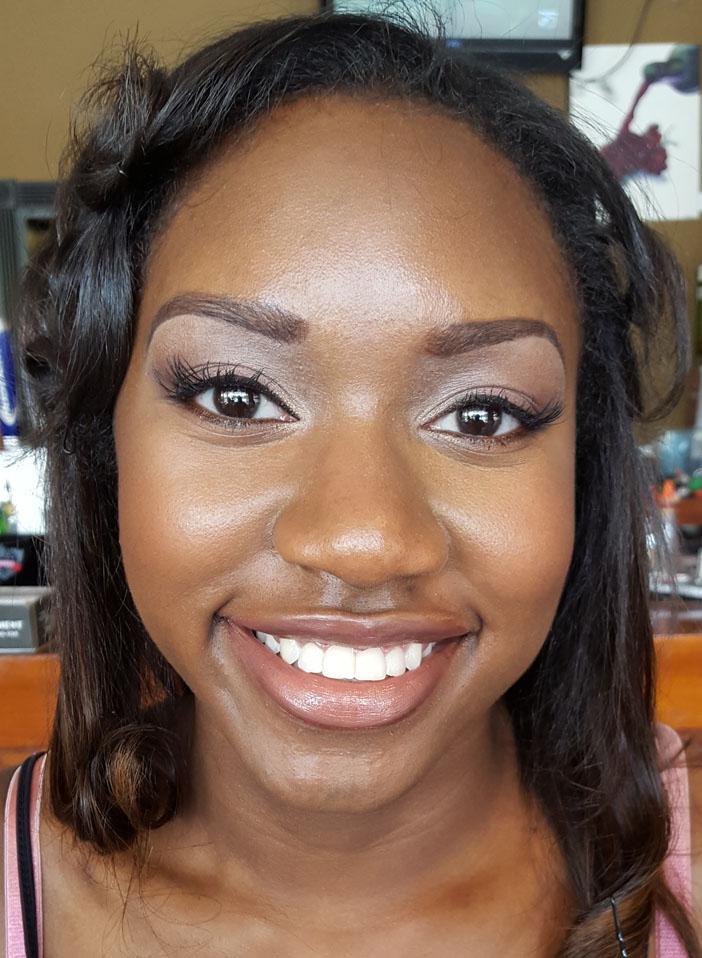 Graduation Makeup Dark Skin