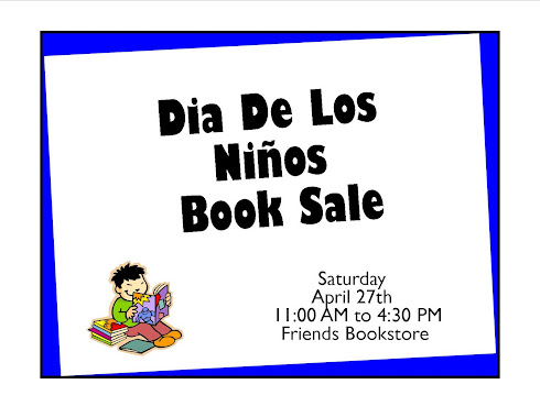 Join us at EAM for Dia De Los Ninos, Dia De Los Libros Book Sale