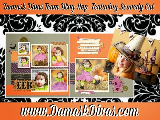 Damask Divas Scaredy Cat Blog Hop