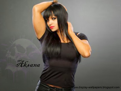 Aksana WWE Desktop Wallpaper