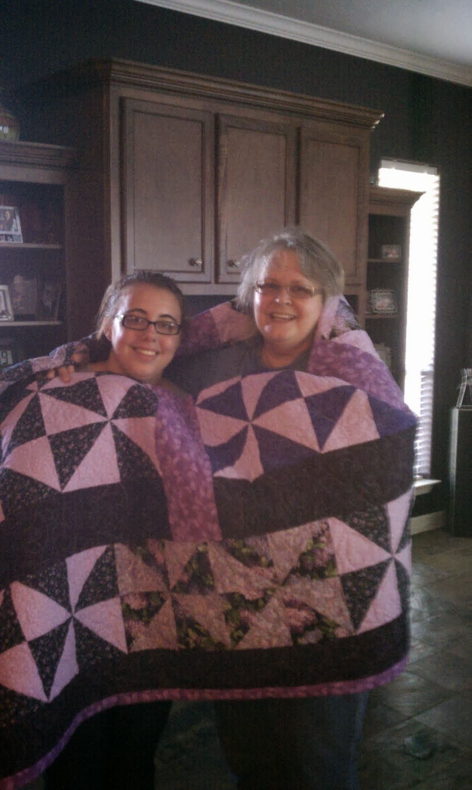 Quilt I made for Rans