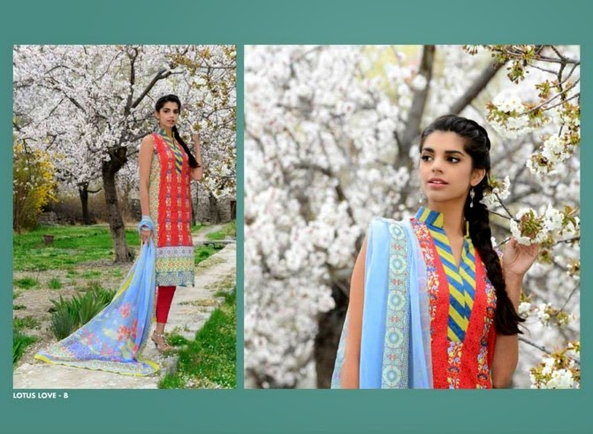 WardaSaleemLawn2014ByShariqTextile wwwfashionhuntworldblogspot 3  - Warda Saleem Lawn Collection 2014 By Shariq Textile