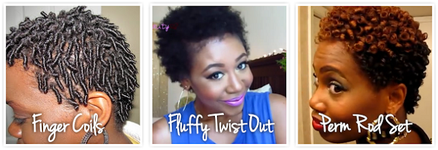 3 Short Natural Hair Styles for your TWA | CurlyNikki | Natural Hair ...