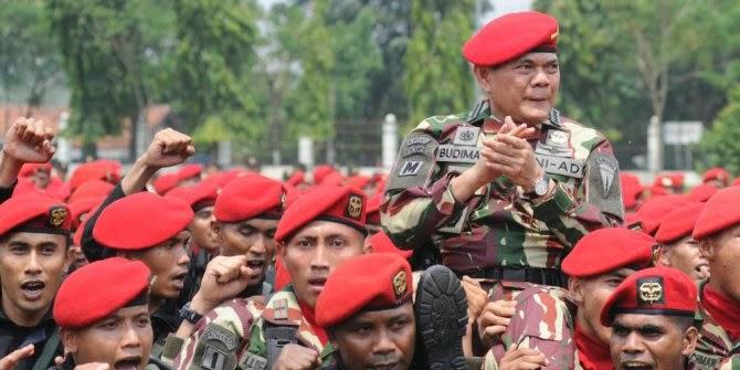 Kasad: Kalau TNI ribut dengan polisi, pasti Brimob