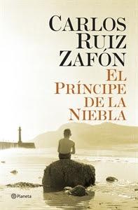 Los más Vendidos: Número 8. El príncipe de la niebla, de Carlos Ruiz Zafón.
