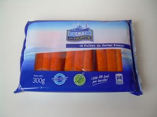 palitos de surimi fresco Flota del Norte (Lidl) - El blog de las marcas blancas