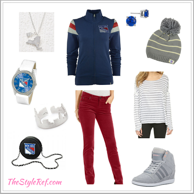 New York Rangers outfit