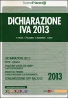 Dichiarazione IVA 2013