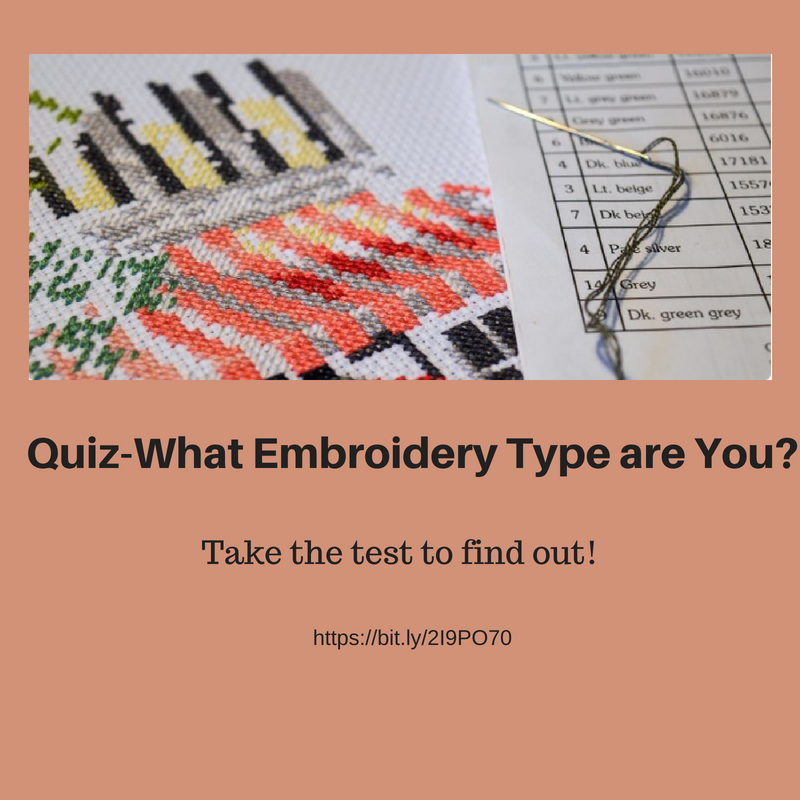 Quiz- What Embroidery Type are You?