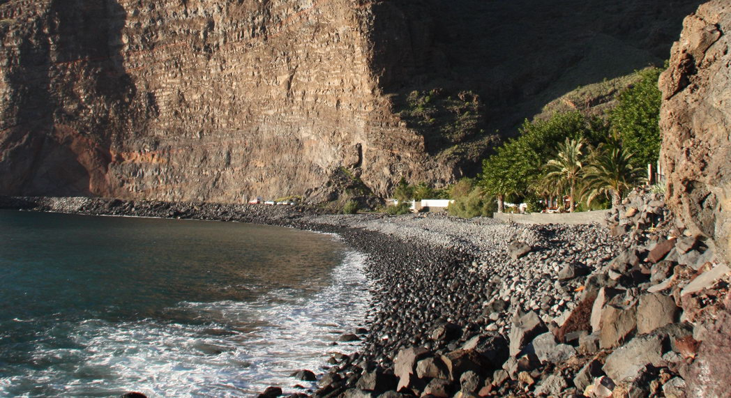 Playa nudista Argaga (La Gomera)