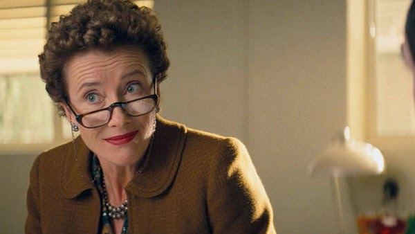 Emma Thompson as P.L. Travers in Saving Mr. Banks.
