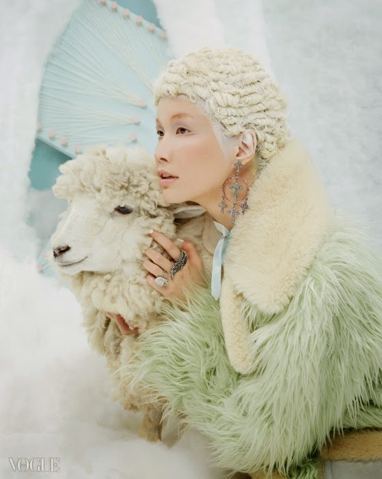 Coach × Gary Baseman 2015 SS Mint Fur Coat Editorials