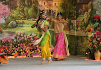 Krishn and Gopi performance during the 2012 Mela Fair at Jagadguru Kripaluji Maharaj's ashram, Radha Madhav Dham