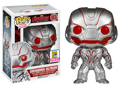 "San Diego Comic-Con 2015 Exclusive Avengers: Age of Ultron ""Grinning"" Ultron Pop! Marvel Vinyl Figure by Funko"
