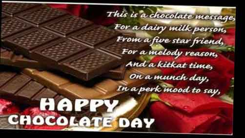 chocolate quotes and sayings 2017 valentine week