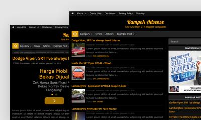Rampok Adsense Blogger Template