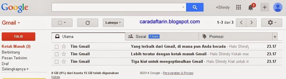 email baru gmail