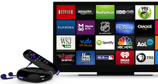 Roku simple and intuitive grid interface