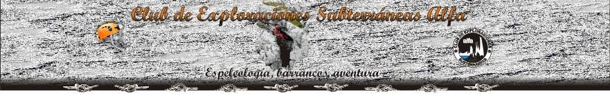 ESPELEOLOGÍA GRUPO C.E.S. ALFA