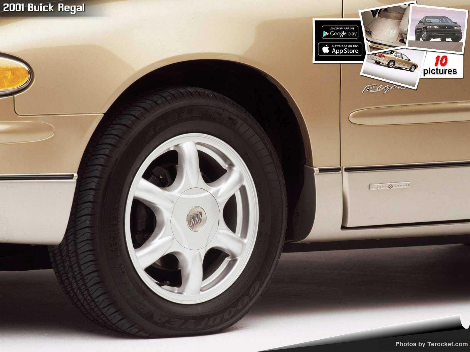 Hình ảnh xe ô tô Buick Regal 2001 & nội ngoại thất