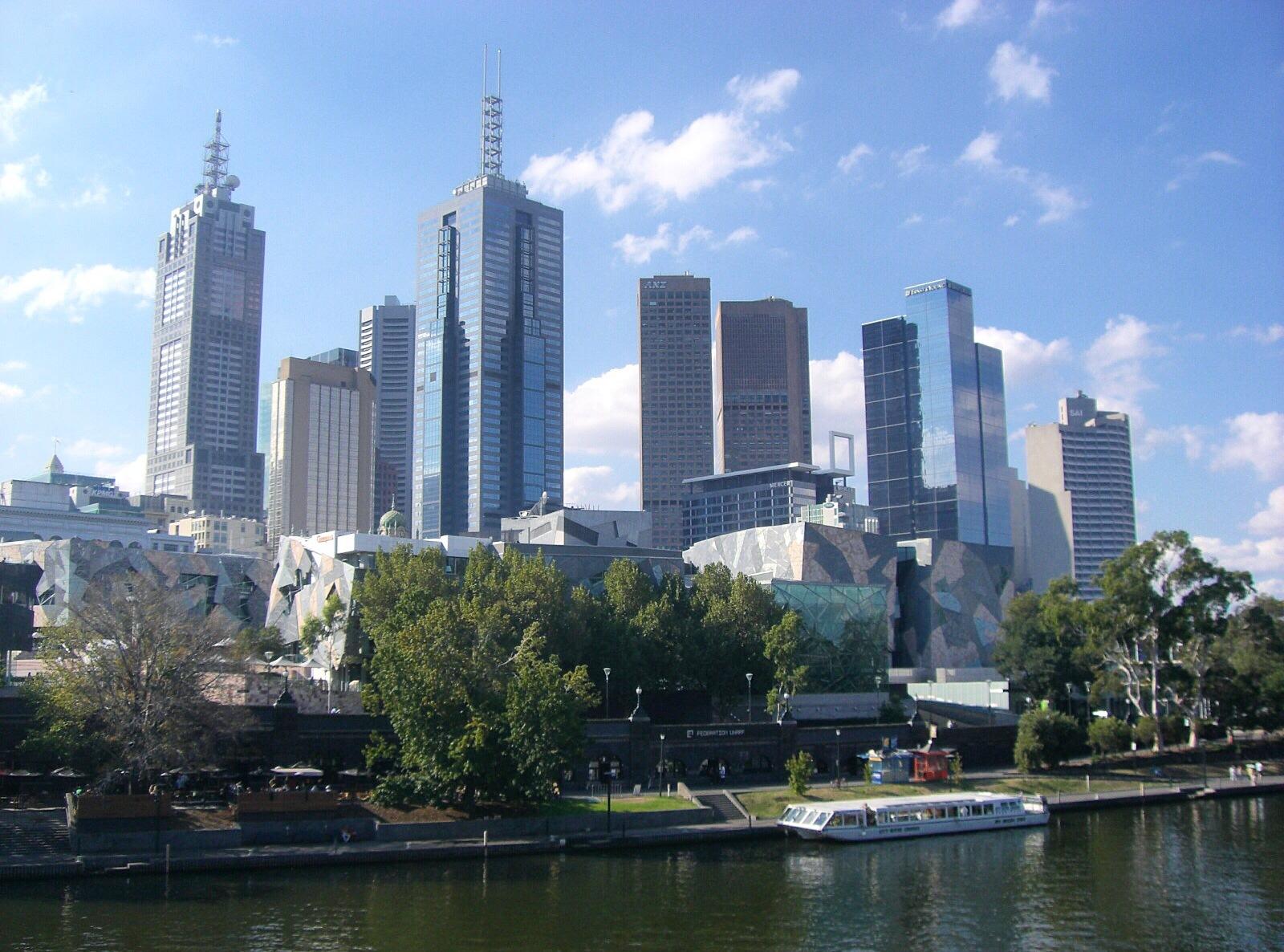 Australien, OZ, Frollein Pfau, Melbourne, Skyline