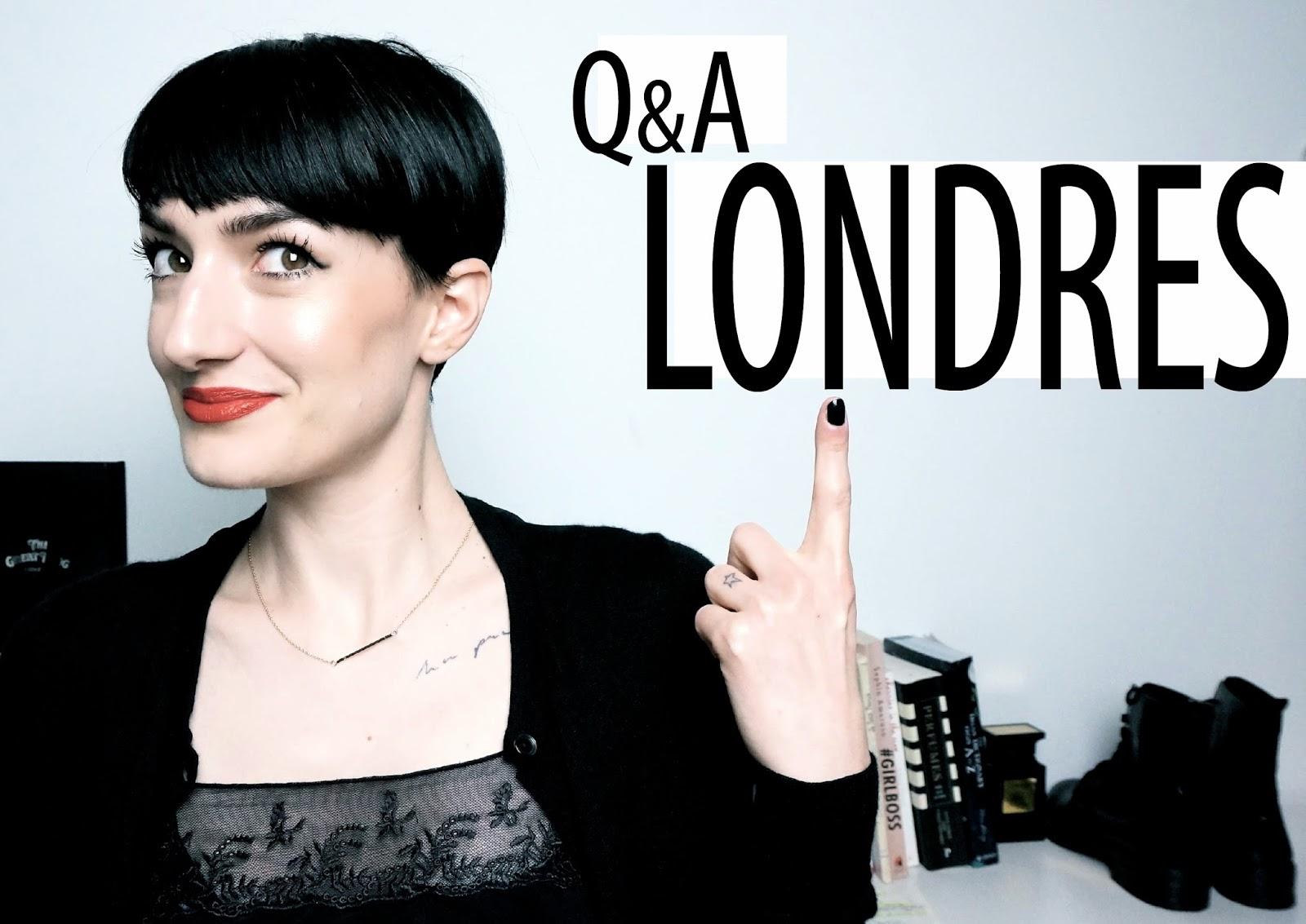 Q&A FAQ vos questions sur Londres Lexie Blush