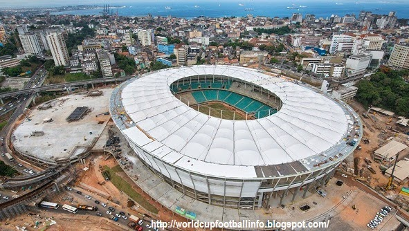 arena fonte nova, football venues, soccer venues, world cup venues, football, fifa world cup football 2014