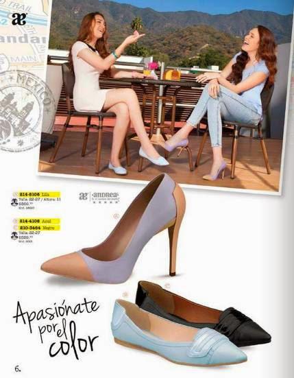 Zapatos en dos tonos Andrea Teens P-2015