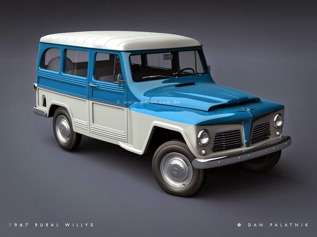 Apresentamos Rural Willys 4x4motion Com