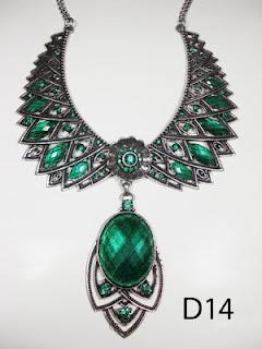 kalung aksesoris wanita d14