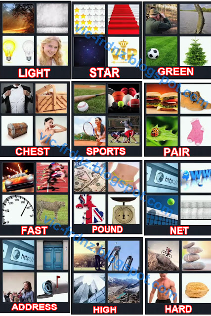 What's The Word 4 Pics 1 Word Level 52-100 Answers & Cheats