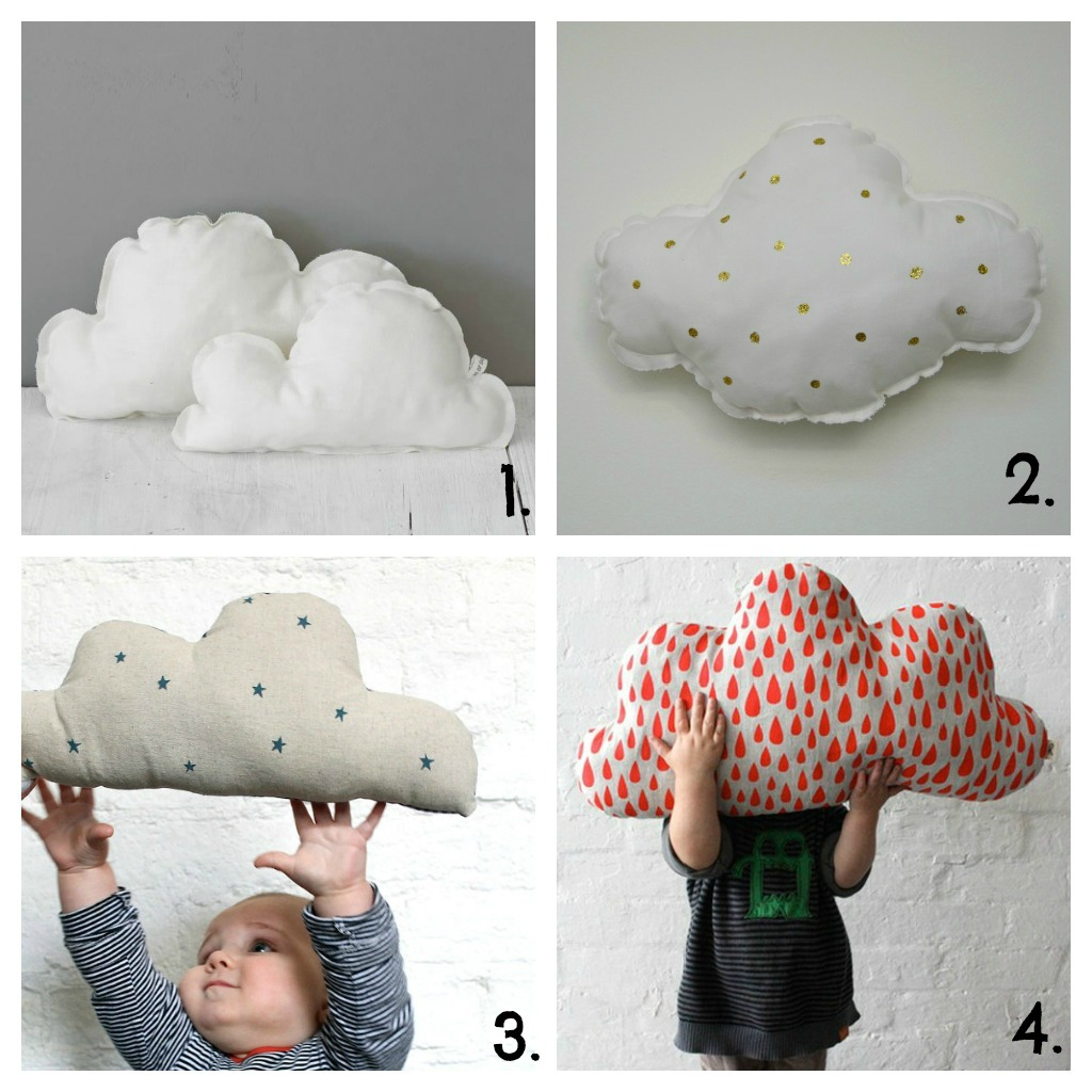 Deco cojines nube for Cojines de nubes
