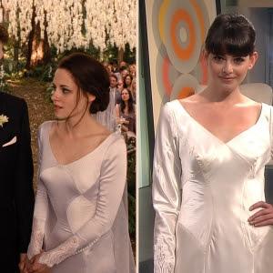 bella breaking dawn wedding dress