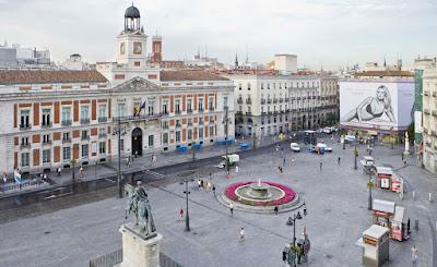 La Puerta del Sol en Madrid