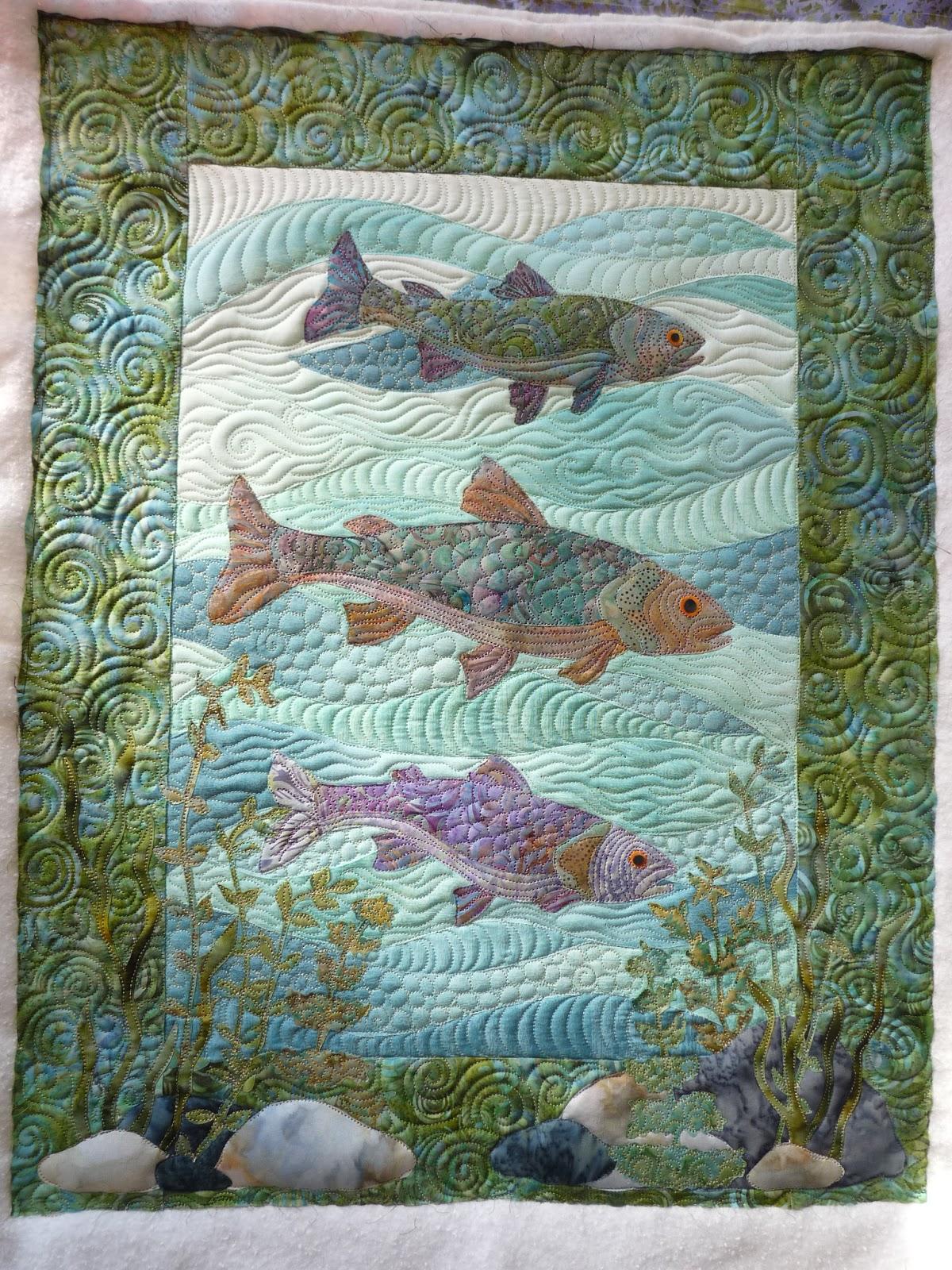tanderwen s erin erins fish quilts quilt