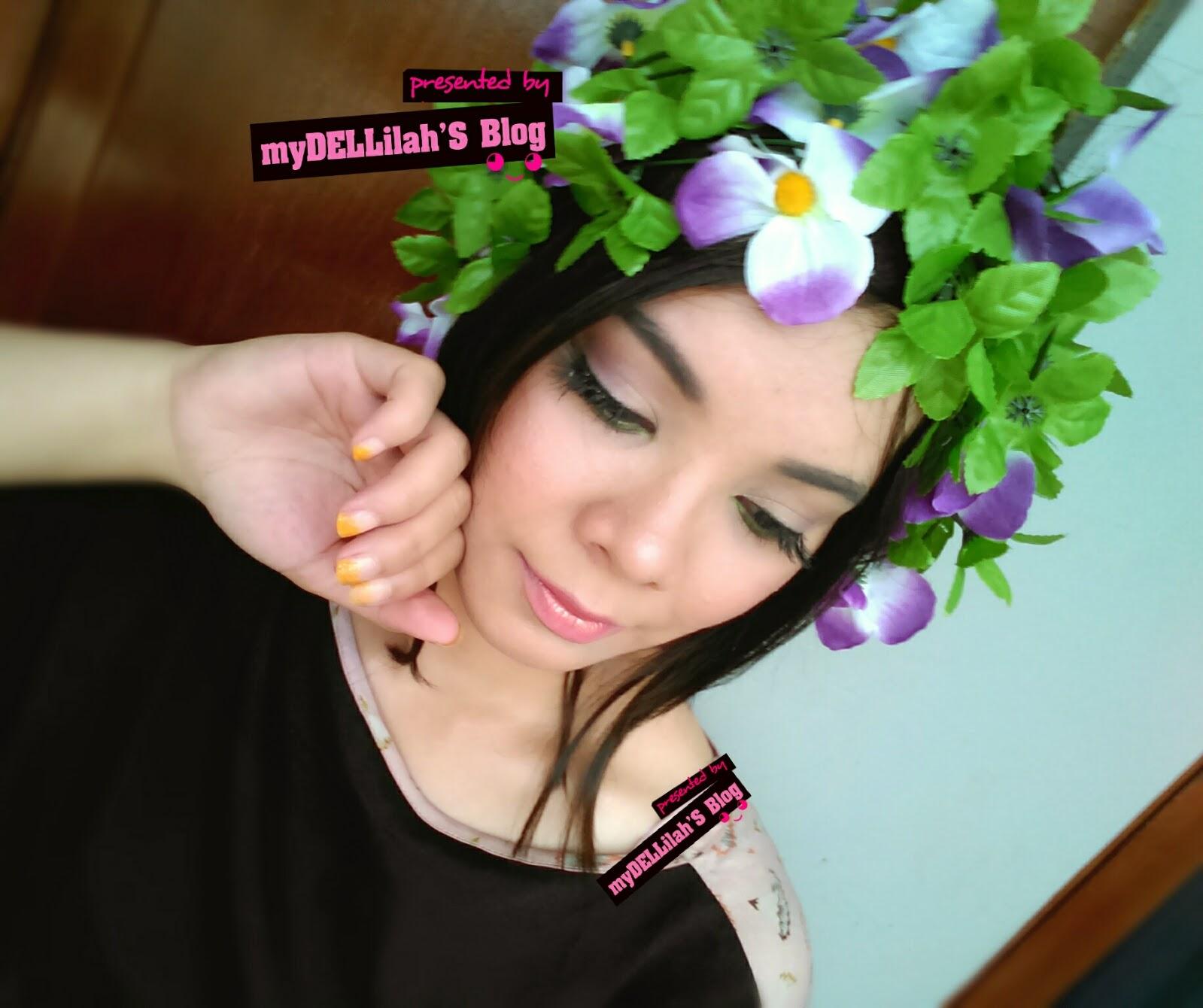 Flowery Garden Makeup