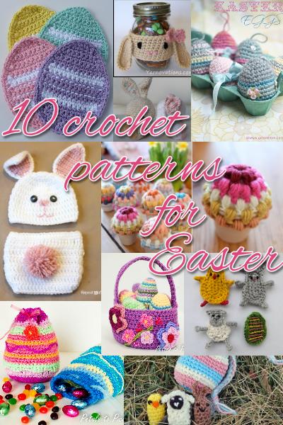 Two Little Cs 10 Crochet Patterns For Easter