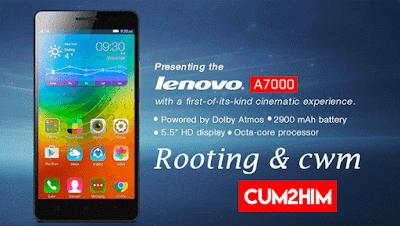 Cara Ampuh Root Lenovo A7000 Plus Tanpa PC