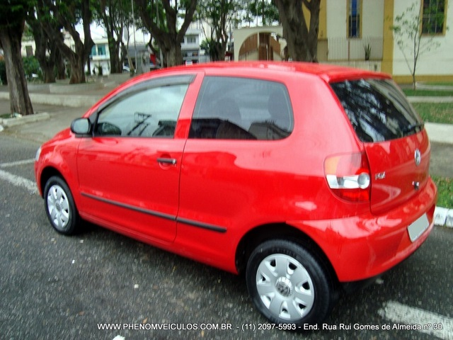 Volkswagen Fox 1.0 Flex 2007 Plus 2 portas