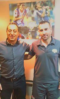 Junto a Pablo Garabelo-Asistente Selección Colombia