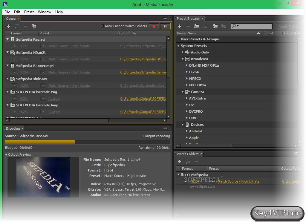 adobe video encoder