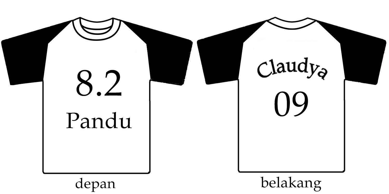 Contoh desain t shirt kelas - Contoh Desain Kaos Kelas