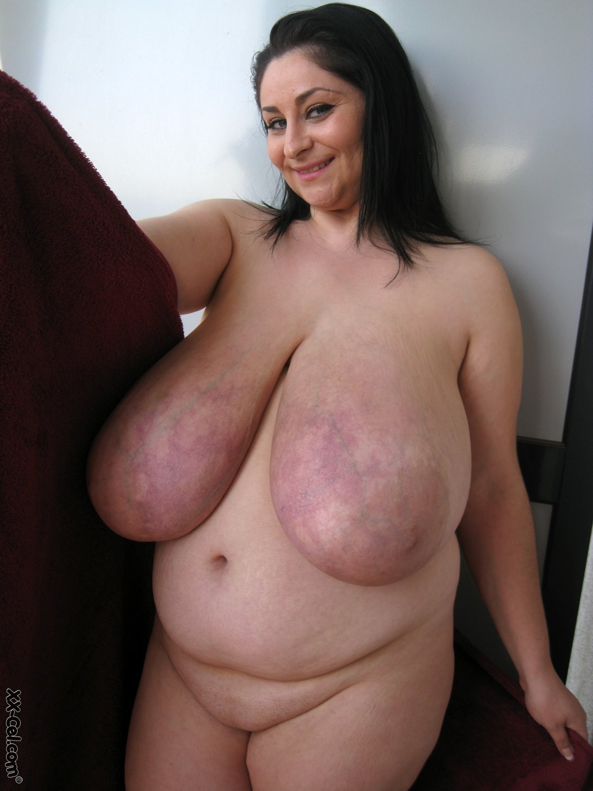 Super huge saggy tits