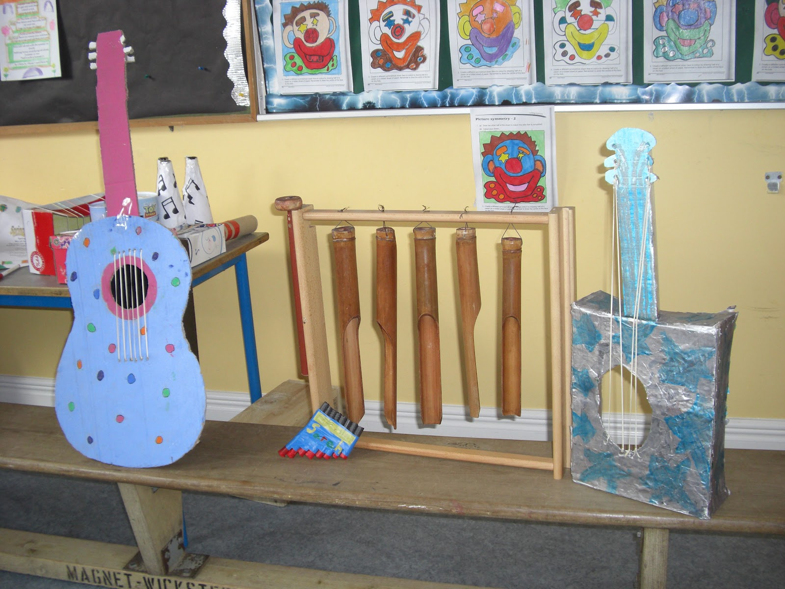 how to build a musical instrument for school