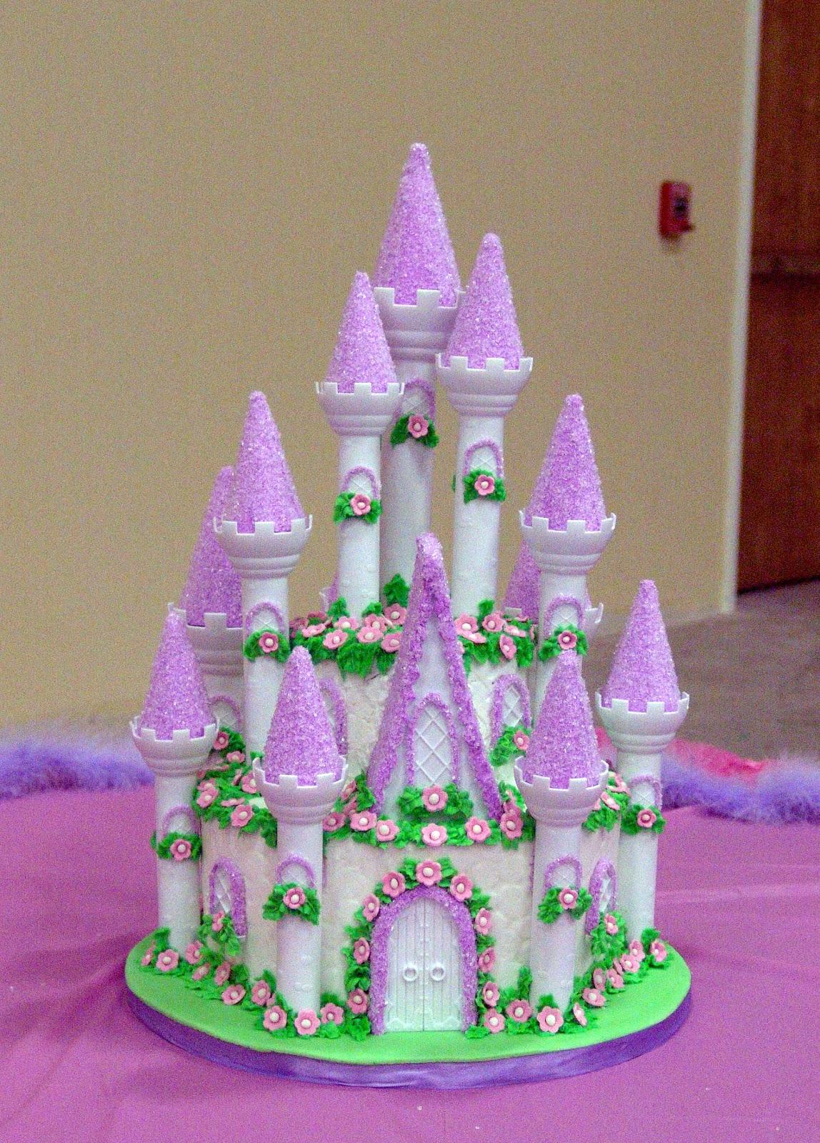 Pictures Of Princess Castle Cake : Deb s Sweet Spot: Princess Castle Cake