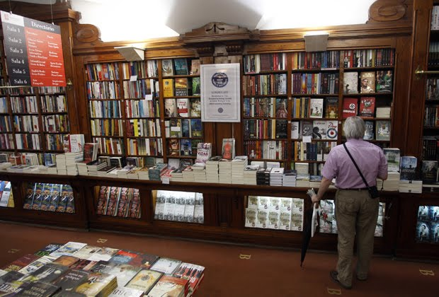 Bertrand Bookstore, in Lisbon, since 1732, the most ancient of world